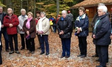 Restaurierung des Frauenbundkreuzes an der Kohlstatt