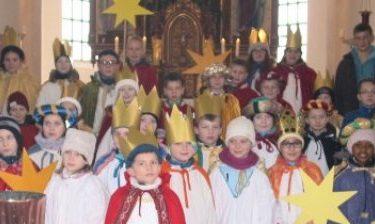 Rückkehr der Steinkirchener Sternsinger