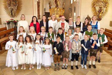 Erstkommunion in Jetzendorf