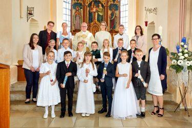Erstkommunion in Steinkirchen