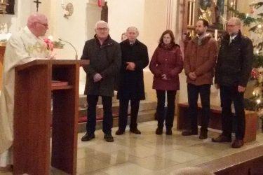 Verabschiedung früherer Mitglieder der Kirchenverwaltungen