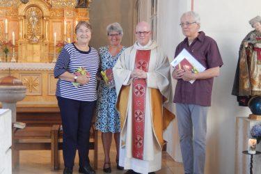 Neue Wortgottesdienstleiter*innen in der Pfarrei Jetzendorf